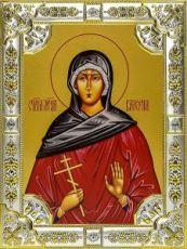 Валерия Кесарийская (18х24), серебро