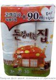 Туалетная бумага Корея 1/30шт (LIVING) 33м, шт