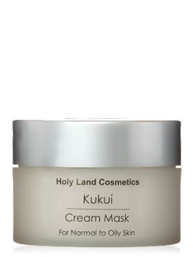 Holy Land Kukui Cream Mask for oily skin Сокращающая маска