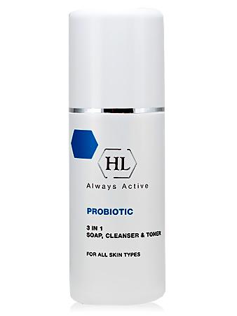 Holy Land Probiotic 3 in 1 (Soap, Cleanser & Tonic) Очиститель 3 в 1