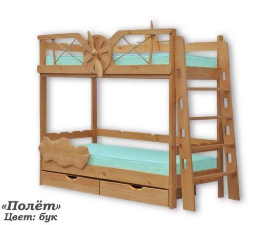 Кровать Полёт двухъярусная