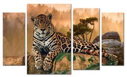 Леопард на скалах