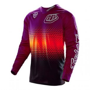 Troy Lee Designs SE JERSEY STARBURST purple