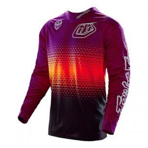 Troy Lee Designs SE JERSEY STARBURST purple