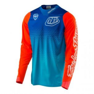 Troy Lee Designs SE JERSEY STARBURST blue