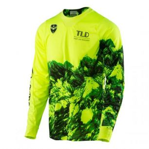 Troy Lee Designs SE JERSEY GRAVITY YELLOW