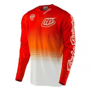 Troy Lee Designs SE JERSEY STARBURST RED / WHITE