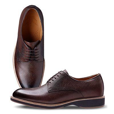 Мужская обувь ручной работы Atomy (мат.коричневый)
