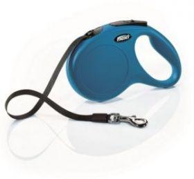 Flexi рулетка New Classic лента 5 м синяя