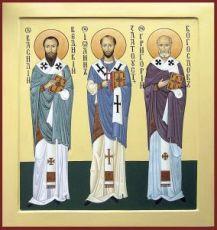 Икона Собор трех Святителей