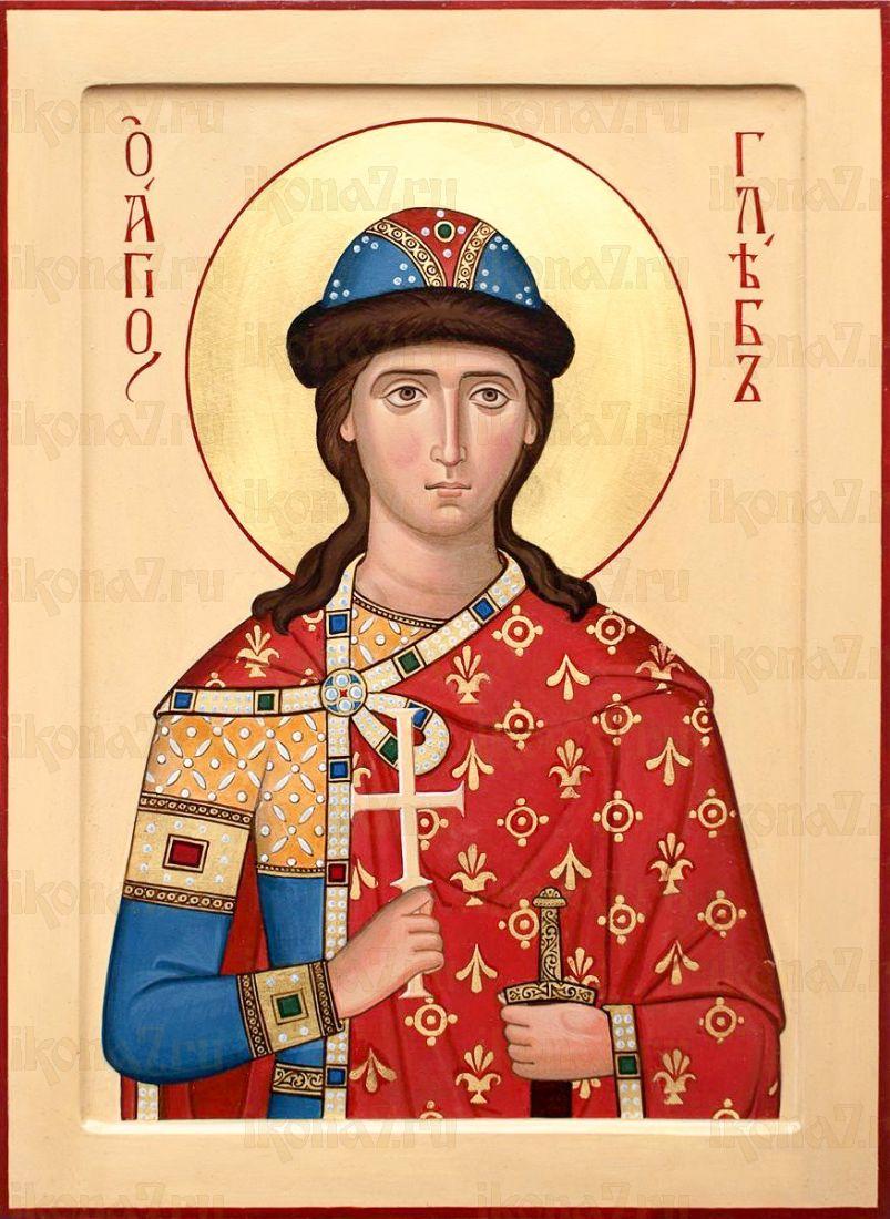 Икона Глеб, князь