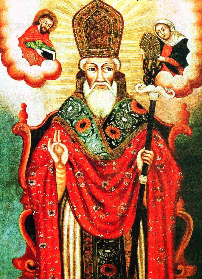 Икона Григорий Армянский (копия старинной)