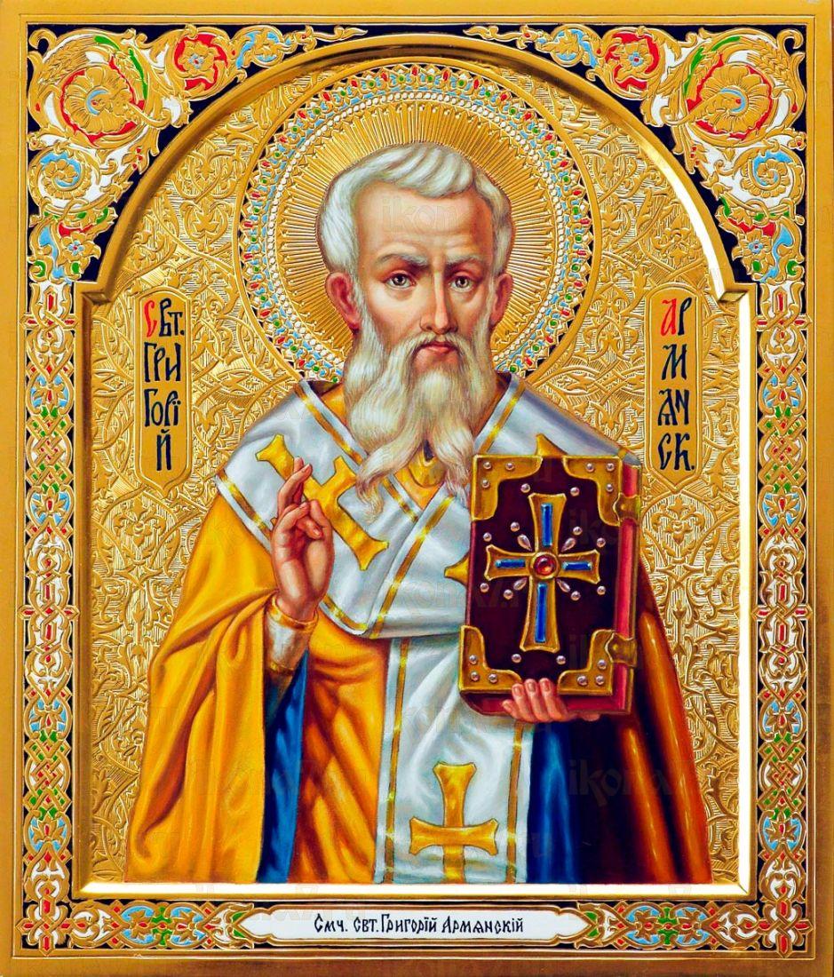 Икона Григорий Армянский