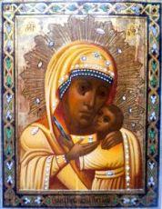 Горбаневская икона Божией Матери (копия старинной)