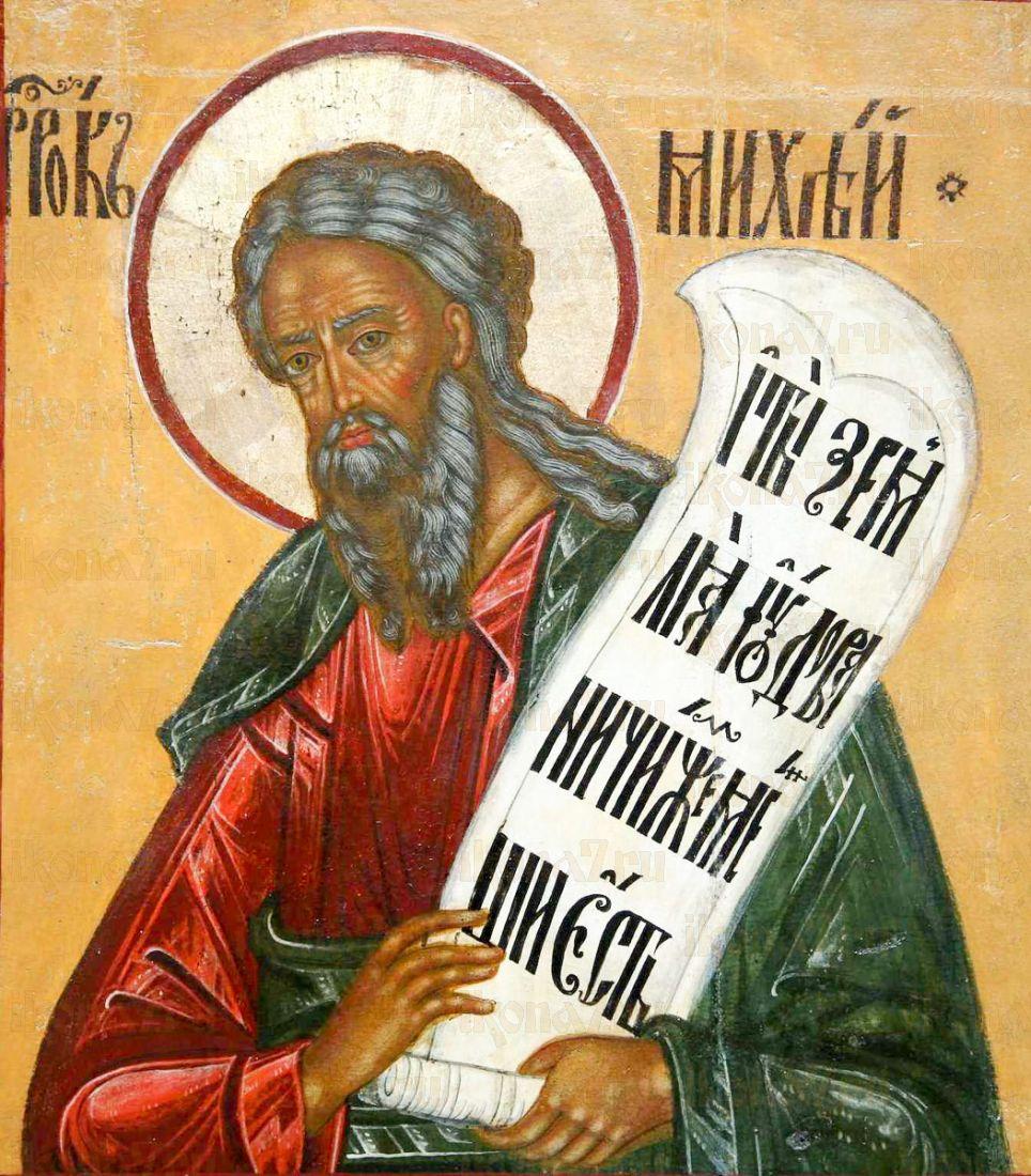 Икона Михей, пророк