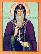 Варлаам Хутынский (копия иконы 19 века)
