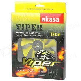Вентилятор Akasa 120x120x25 Viper S-Flow PWM AK-FN059