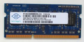 Модуль памяти Nanya  PC3-10600 DDR3-1333 SO-DIMM NT2GC64B88BONS-CG 2GB