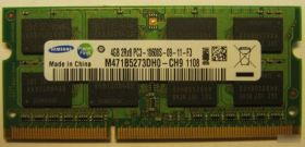 Модуль памяти Samsung DDR3 1333 SO-DIMM 4Gb(M471B5273DH0-CH9)