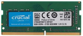 Модуль памяти Crucial DDR4 8GB SO-DIMM PC4-17000 CT8G4SFS8213