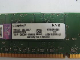 Модуль памяти Kingston 2GB DDR3 PC3-12800 KVR16R11S8/2  ECC REG oem