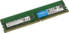 Модуль памяти Crucial  DDR4 DIMM 8GB PC4-19200 2400Mhz CT8G4DFS824A