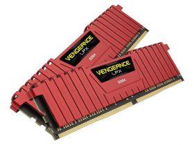 Модуль памяти Corsair Vengeance LPX Red 2x8GB DDR4 PC4-21300 CMK16GX4M2A2666C16R