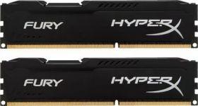 Модуль памяти Kingston DDR3 DIMM  HyperX Fury HX316C10FBK2/16  16Gb KIT 2*8Gb PC3-12800