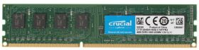Модуль памяти Crucial  DDR3 DIMM 4GB PC3-12800 1600MHz CT51264BA160B