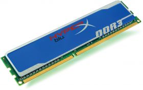 Модуль памяти  KINGSTON HYPERX KHX1600C9AD3B1/2G DDR3 - 2Гб 1600, DIMM oem