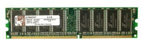 Модуль памяти Kingston KVR400X64C3A/1G DIMM DDR 1GB PC3200 400MHz
