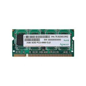 Модуль памяти Apacer DDR2 800 SO-DIMM 2Gb CL6
