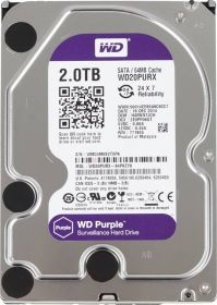 "Жёсткий диск HDD 3.5"" 2Tb Western Digital   WD20PURZ  Purple"