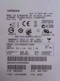 "Жесткий диск HDD 3.5"" 600Gb HGST SAS HUS156060VLS600"
