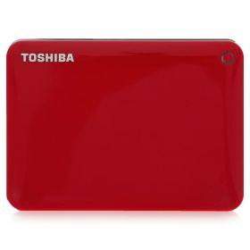 "Внешний жесткий диск HDD 2.5"" USB 3.0 2TB Toshiba HDTC820ER3CA Canvio Connect II Red"