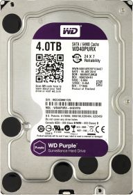 "Жесткий диск HDD 3.5"" 4Tb Western Digital WD40PURX Purple"