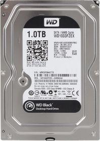 """Жесткий диск HDD 3.5"""" 1Tb Western Digital WD1003FZEX Black"""