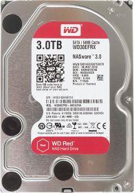 """Жесткий диск HDD 3.5"""" 3Tb Western Digital WD30EFRX Red"""
