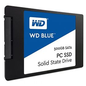 "Твердотельный диск SSD 2.5"" 500 GB Western Digital BLUE PC  WDS500G1B0A"