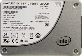 """Твердотельный диск  SSD 2.5"""" 200Gb Intel SSDSC2BA200G401 S3710 Series"""
