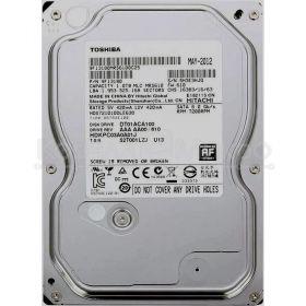 """Жесткий диск HDD 3.5""""  1Tb Toshiba  SATA-III DT01ACA100"""