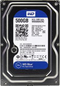 """Жесткий диск HDD 3.5"""" 500Gb Western Digital WD5000AZRZ Blue"""