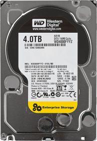 """Жесткий диск HDD 3.5"""" 4Tb Western Digital WD4000FYYZ"""