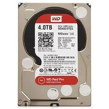 """Жесткий диск HDD 3.5"""" 4Tb Western Digital WD4001FFSX Red Pro"""