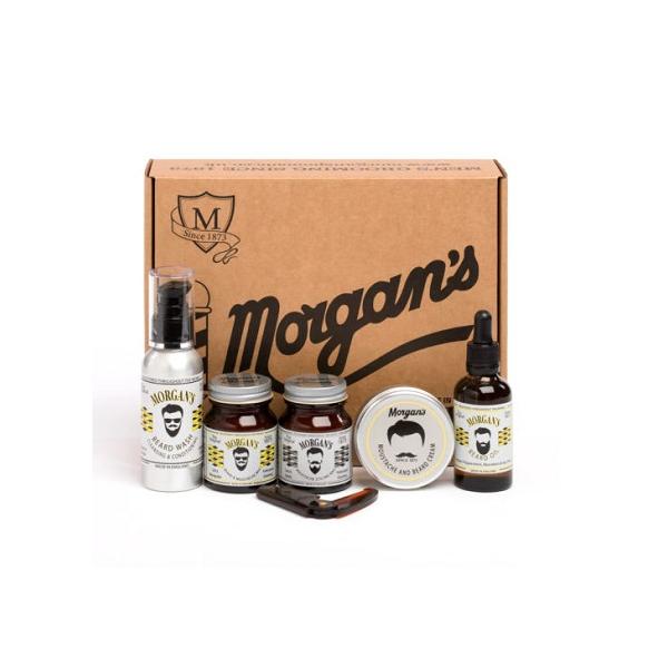 Набор средств Morgan's Premium для бороды и усов