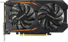 Видеокарта GIGABYTE GeForce GTX 1050 Ti 1316Mhz PCI-E 3.0 4096Mb 128 bit OC GV-N105TOC-4GD