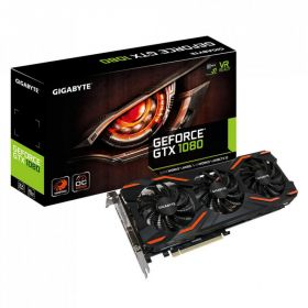 Видеокарта GIGABYTE GeForce GTX 1080 1657Mhz PCI-E 3.0 8192Mb 256 bit GV-N1080WF3OC-8GD