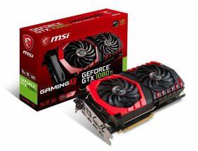 Видеокарта  MSI GeForce GTX 1080 Ti 1569Mhz PCI-E 3.0 11264Mb  352 bit DVI Gaming X