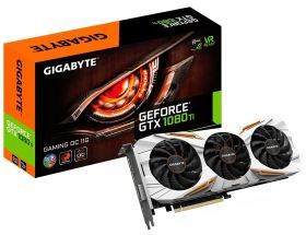 Видеокарта GIGABYTE GeForce GTX 1080 Ti 1544Mhz PCI-E 3.0 11264Mb  352 bit Gaming OC GV-N108TGAMING OC-11GD