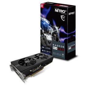 Видеокарта Sapphire Nitro+ Radeon RX 580 1340Mhz PCI-E 3.0 8192Mb  256 bit DVI 11265-03-20G